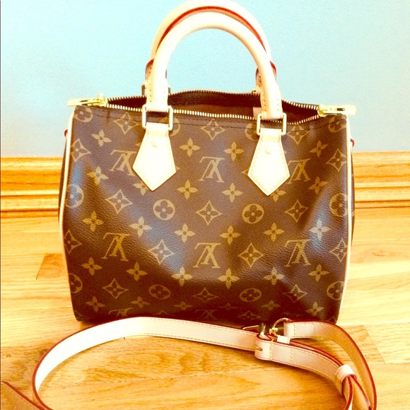 Gorgeous little monogram duffle bag